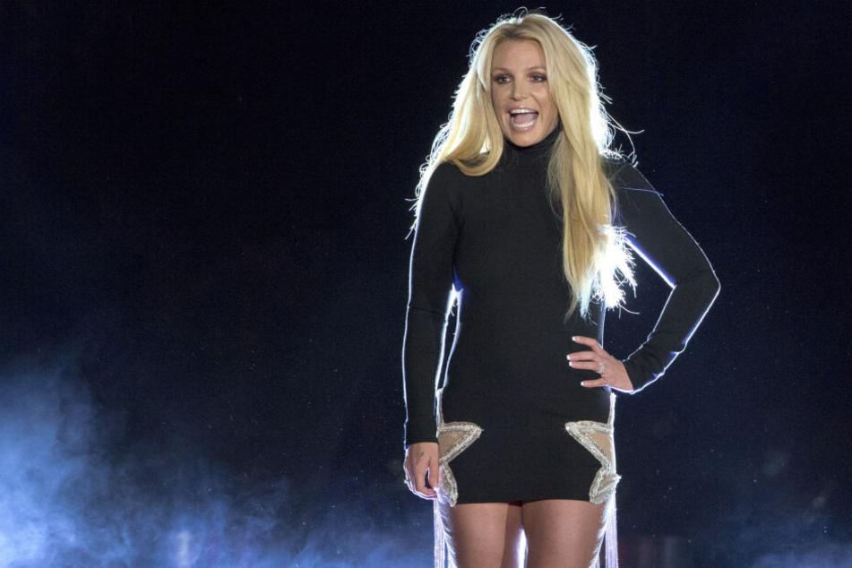 Britney Spears (37) bei einem Auftritt in Las Vegas.