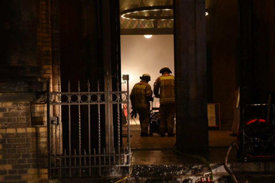 In der Zionskirche kam es am Donnerstagabend zu einem Brand.