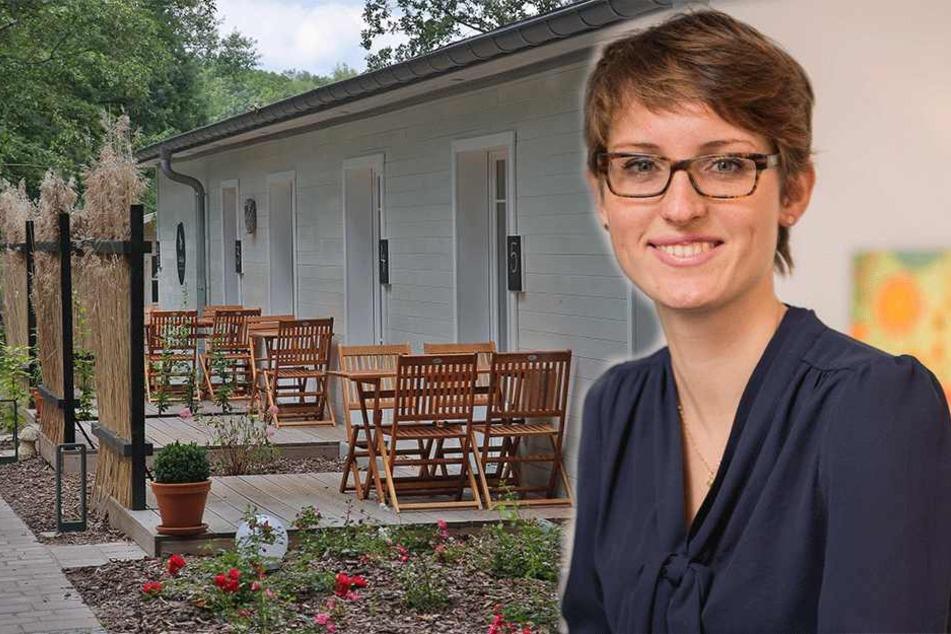Frau Raupach hat Dresdens erstes Hotel in der Heide