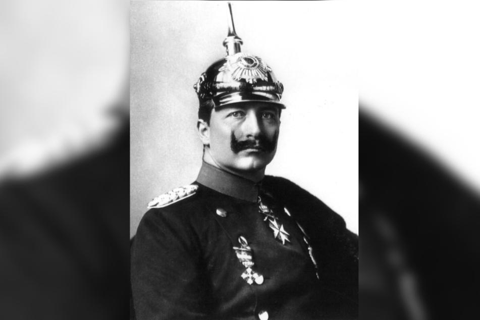 Kaiser Wilhelm II. musste nach dem verlorenen Ersten Weltkrieg 1918 als der letzte Hohenzollern-Kaiser abdanken.