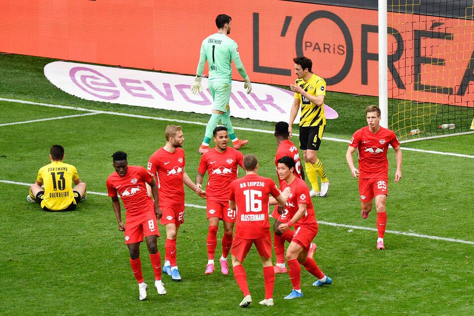 Nur kurz konnte RB Leipzig am vergangenen Samstag bei Borussia Dortmund jubeln. Kurz vor dem Ende fiel noch das 3:2 für die Borussen.