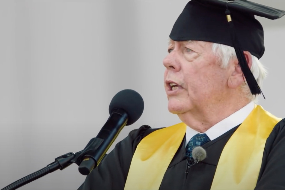 Ex-NRA president fooled into giving speech at fake graduation for gun violence victims