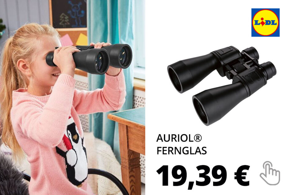 AURIOL® Fernglas 10-30x60, 52 m Sehfeld