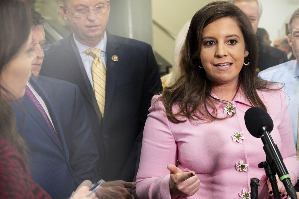 Republicans choose New York Rep. Elise Stefanik to replace ousted House leader Liz Cheney