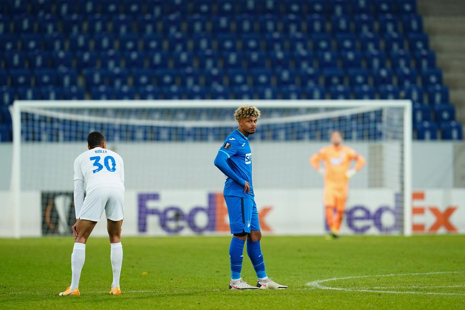 Für die Hoffenheimer um Georginio Rutter (18, M) ist das Abenteuer Euro League schon jetzt beendet.