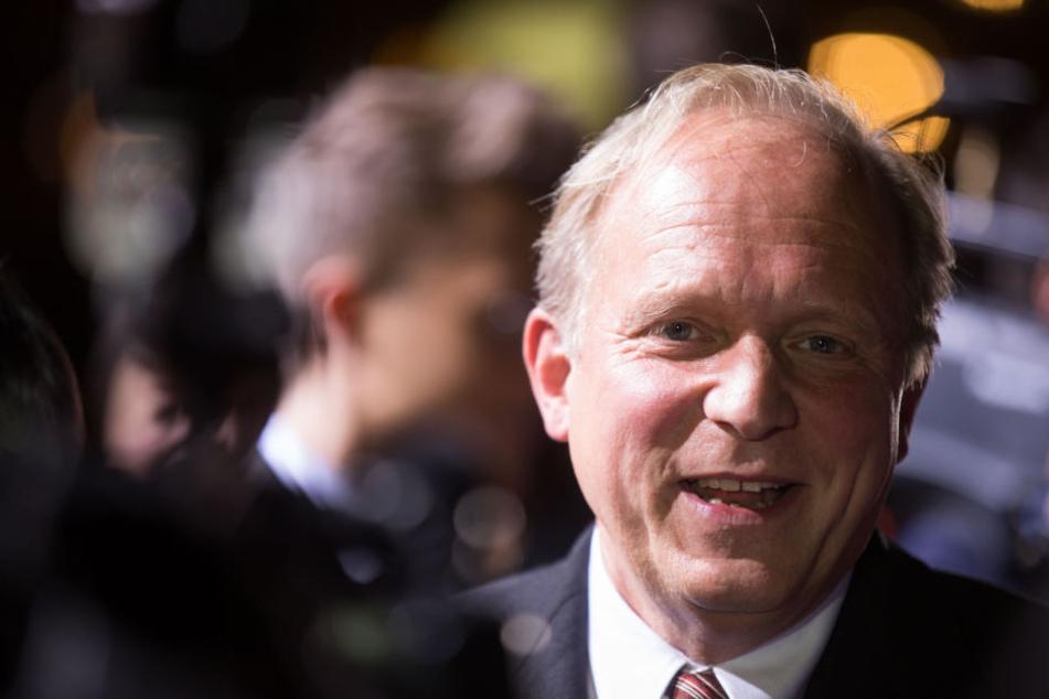Ulrich Tukur bekam den Ehrenpreis des Abends.