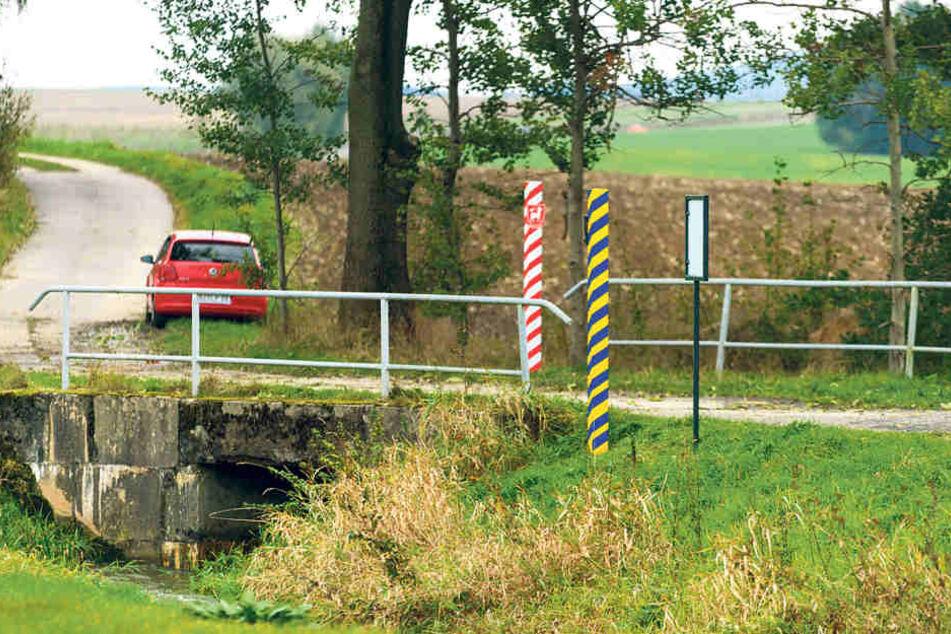Wo beginnt die Oberlausitz? Rammenauer haben jetzt die Grenze markiert.