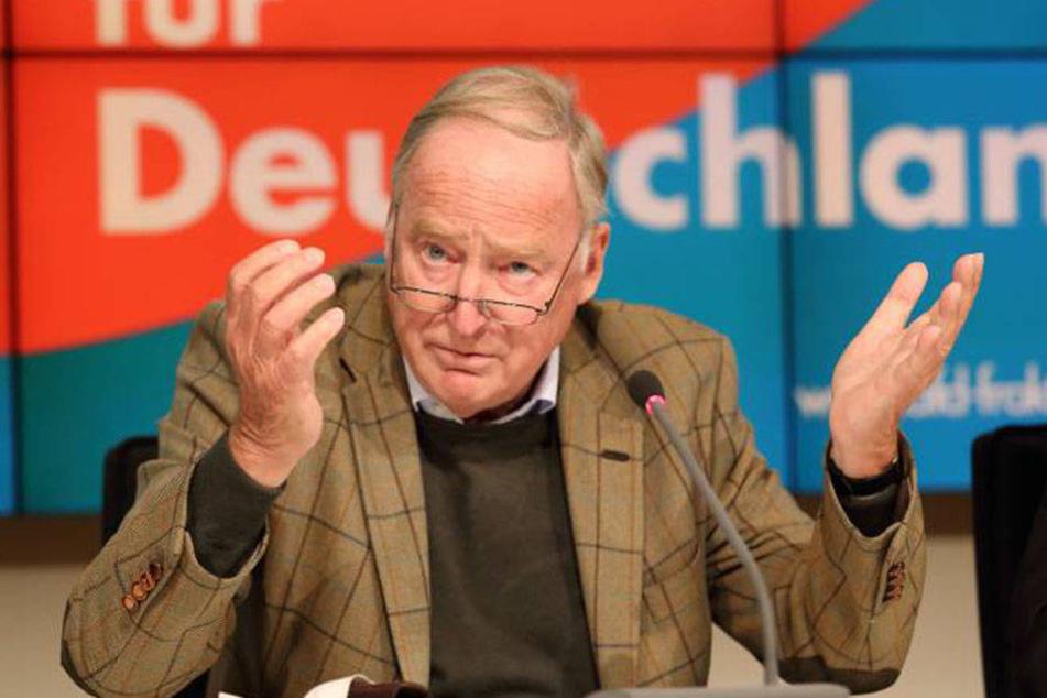 """AfD-Vize Alexander Gauland (75) will """"Mohrenköpfe"""" und """"Zigeunerschnitzel"""" wieder salonfähig machen."""