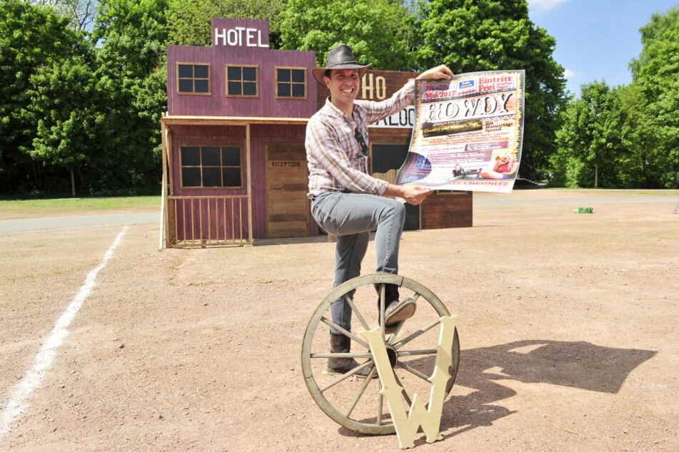 Howdy! Dieser Cowboy bringt den Wilden Westen nach Chemnitz