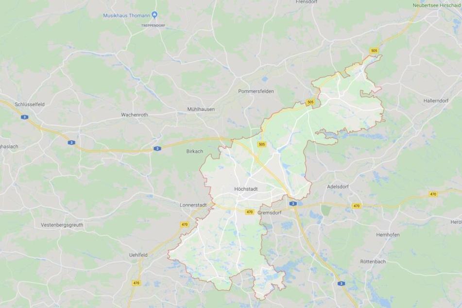 Von der Sperrung ist die A3-Fahrtrichtung Würzburg zwischen Höchstadt-Nord und Schlüsselfeld betroffen