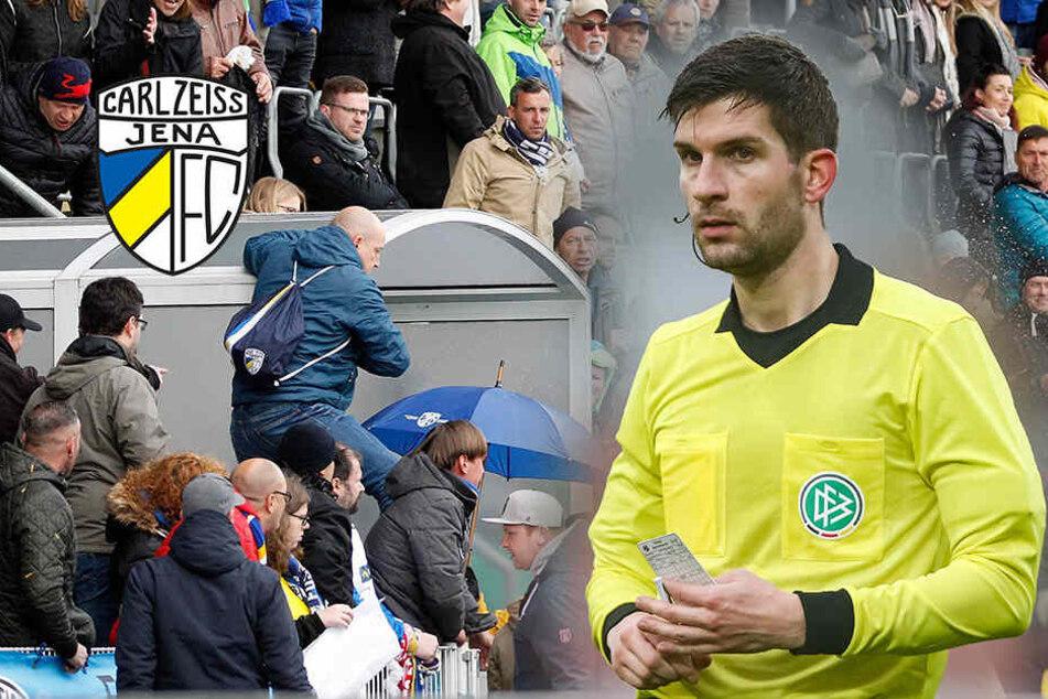 Nach Niederlage: Jena-Fan attackiert Schiedsrichter und verletzt ihn
