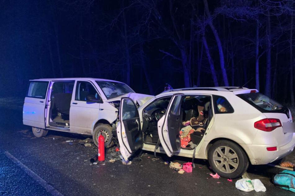 Die 35-jährige Mutter erlag noch am Ort des Unfalls ihren schweren Verletzungen.