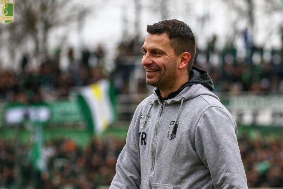 Trainer Miroslav Jagatic freute sich nach dem 3:0 in Sandersdorf über den fünften Dreier in Folge, der Luckenwalde unter Druck setzt. (Archivbild)
