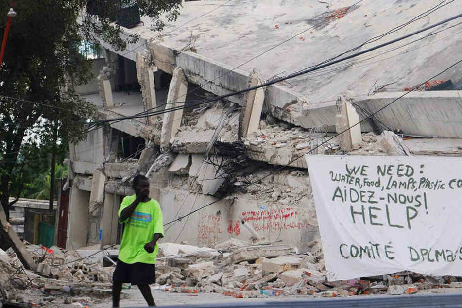 Nach dem schrecklichen Erdbeben im Jahr 2010 brauchte Haiti vor allem Eins: Hilfe!