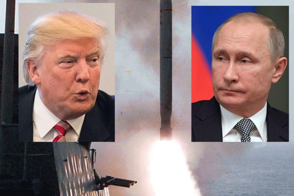 Zwischen Russland und den USA droht neues nukleares Wettrüsten