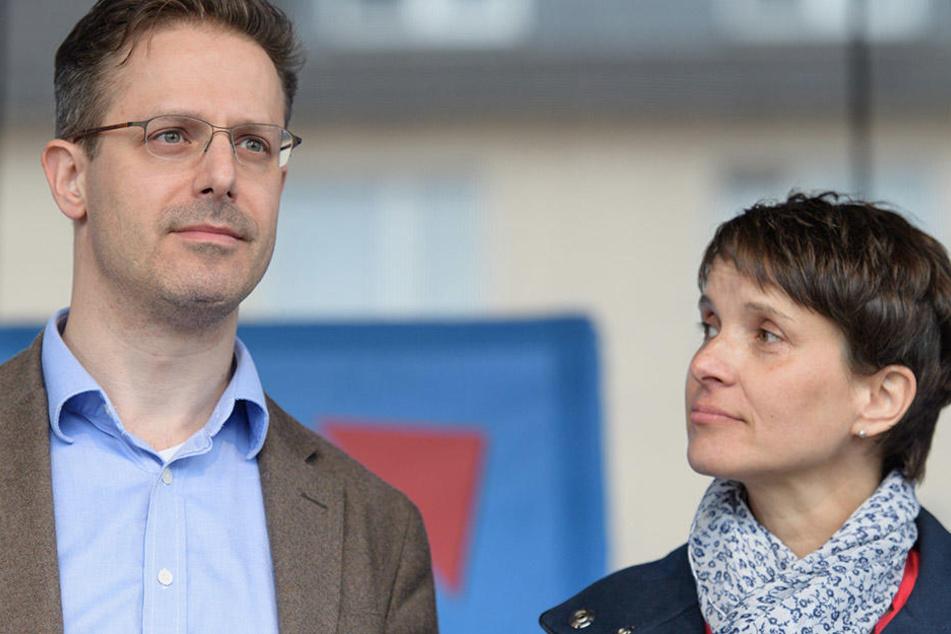 Marcus Pretzell (43) und seine Ehefrau Frauke Petry (41)
