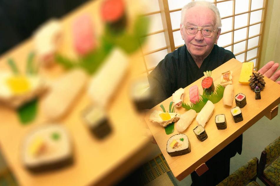 Rolf Anschütz (†2008) war der einzige Gastwirt der DDR, der in Suhl asiatische Spezialitäten servierte.