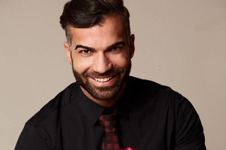 """Rafi Rachek ist sich sicher: Er wird in der aktuellen Staffel von """"Die Bachelorette"""" weit kommen."""