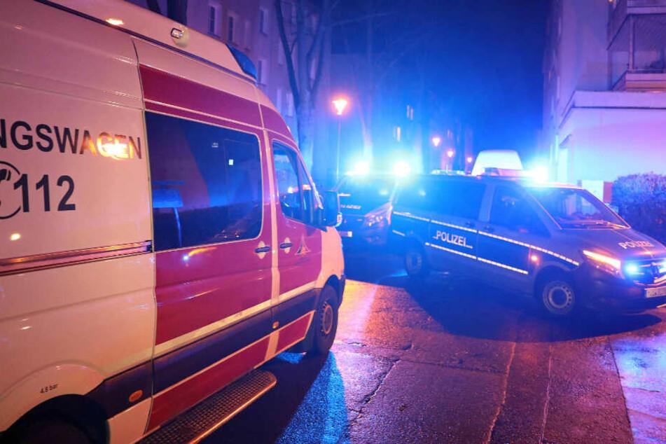 Rettungsdienst und Polizei waren im Einsatz.