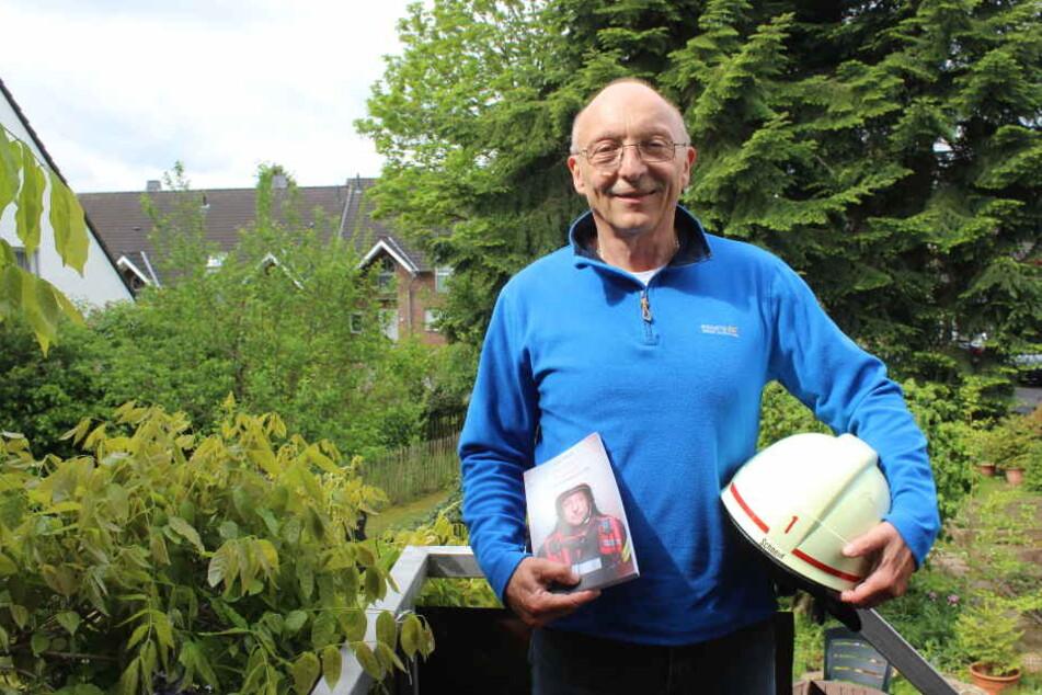 Der pensionierte Feuerwehrmann Lothar Schneid (61) hat sich stets Gedanken über die Folgen seines Jobs gemacht.