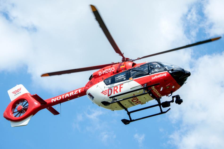 Unfall auf A7 im Oberallgäu: Junger Biker schwer verletzt