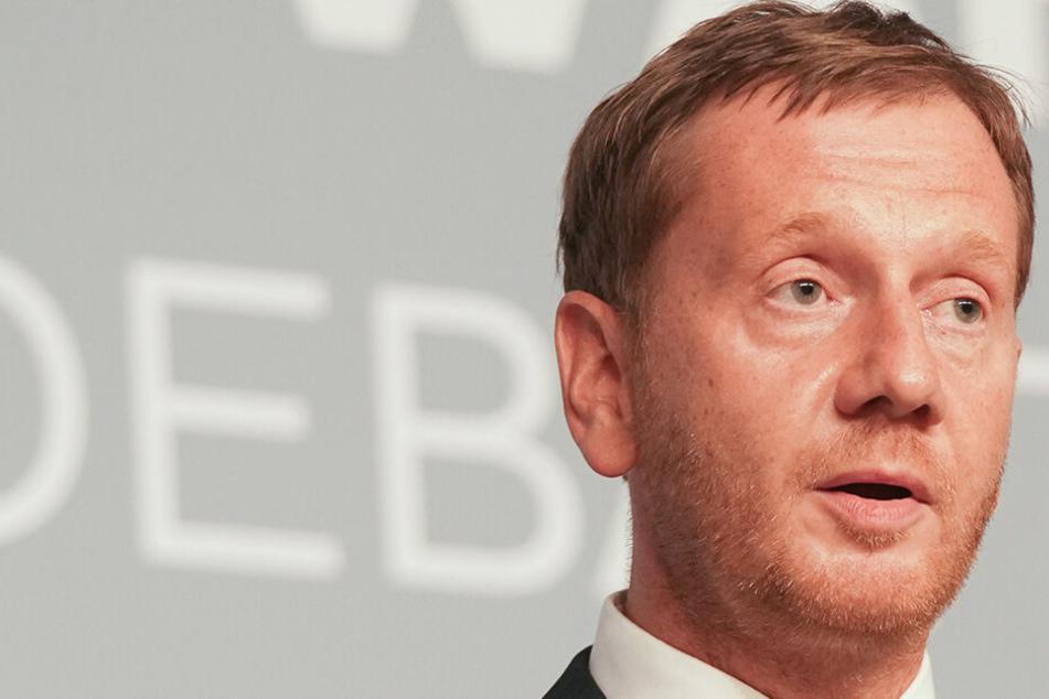 Schafft es MP Kretschmer (44, CDU) mit der Union zum Wahlsieg in Sachsen?