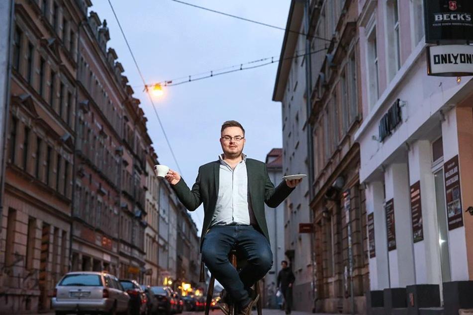 Boys Bar-Chef Stefan Grunwald (30) hat erste Ideen für eine BRN-Insel.