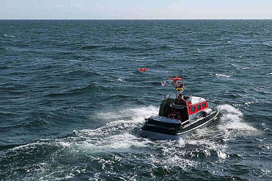 Seenot-Drama in der Ostsee: Männer von sinkender Yacht gerettet