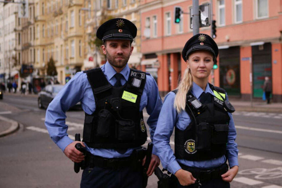 Hier werden in Sachsen die neuen Bodycams eingesetzt