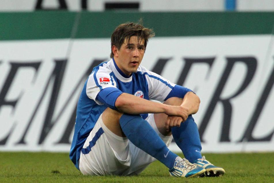 Mit 18 Jahren begann die Karriere von Kevin Pannewitz bei Hansa Rostock. (Archivbild)