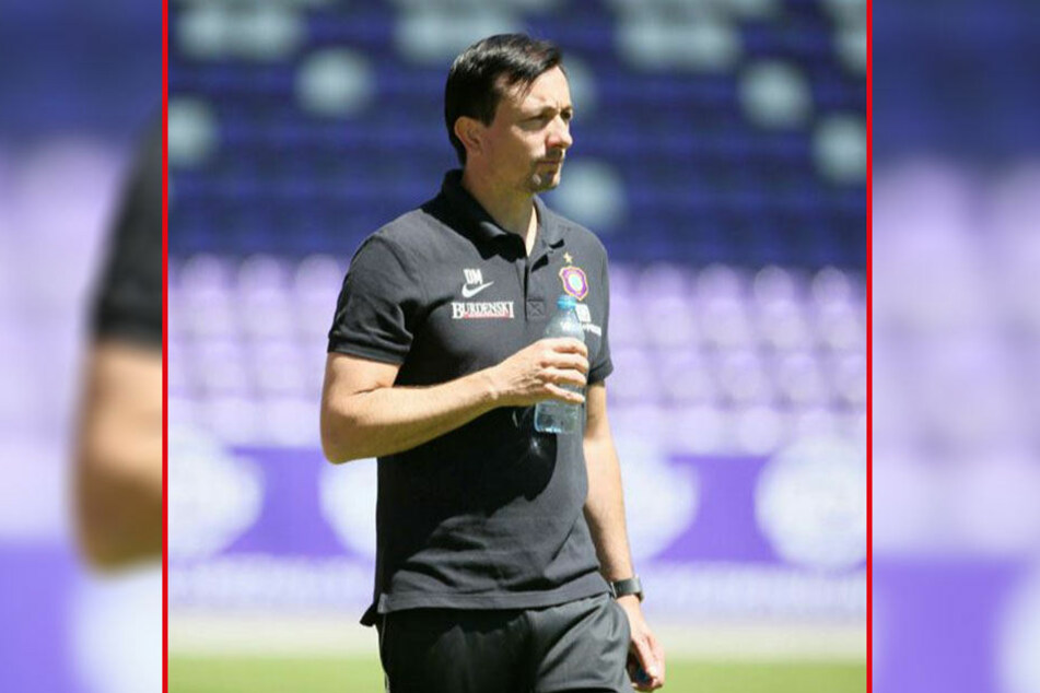 FCE-Trainer Daniel Meyer sucht noch händeringend nach einem Ersatz für Pascal Köpke.