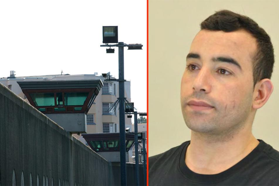 Am Mittwoch ist der 24-jährige Hamed Mouki aus der JVA Tegel verschwunden.