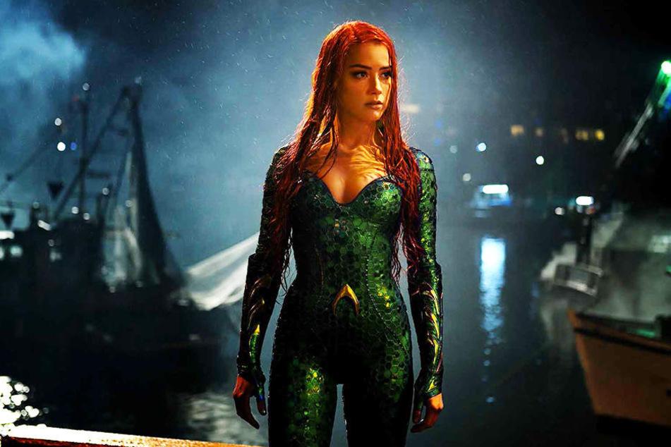 Die bildschöne Mera (Amber Heard) bittet Aquaman um Hilfe: Er soll einen großen Krieg verhindern.