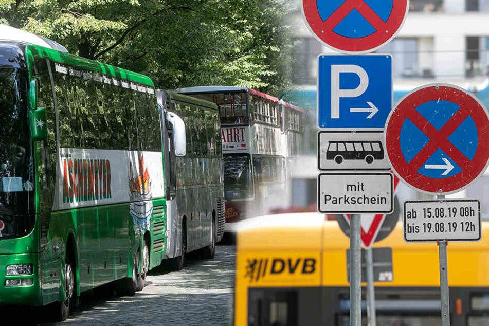 Zum Stadtfest: Rathaus sperrt alle Busparkplätze