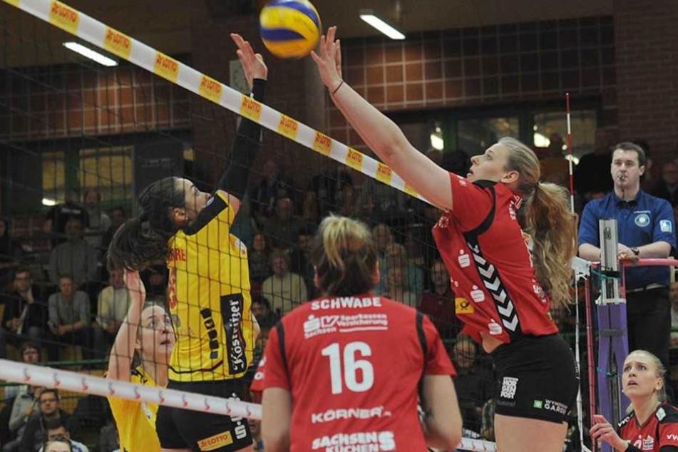 Starker Auftritt: Der DSC hat sich auch gegen den VfB Suhl durchgesetzt.