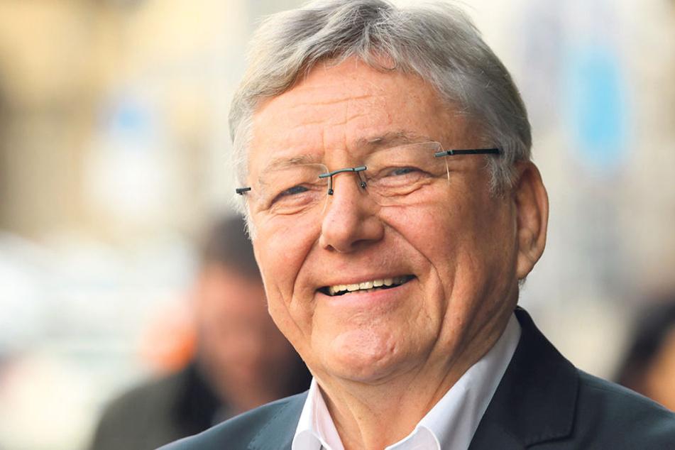Er war Dresdens letzter OB zu DDR-Zeiten: Wolfgang Berghofer wird am Sonntag 75.