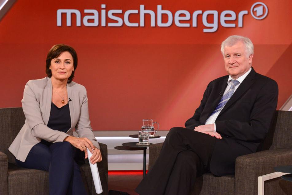 Horst Seehofer (CSU), Bundesminister für Inneres, Heimat und Bau, durfte zu Sandra Maischberger.