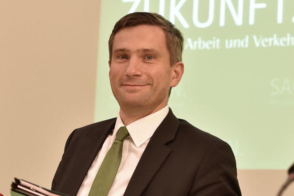 Wirtschaftsminister Martin Dulig (43, SPD) hatte gute Nachrichten bei der Lausitzkonferenz. (Symbolbild)