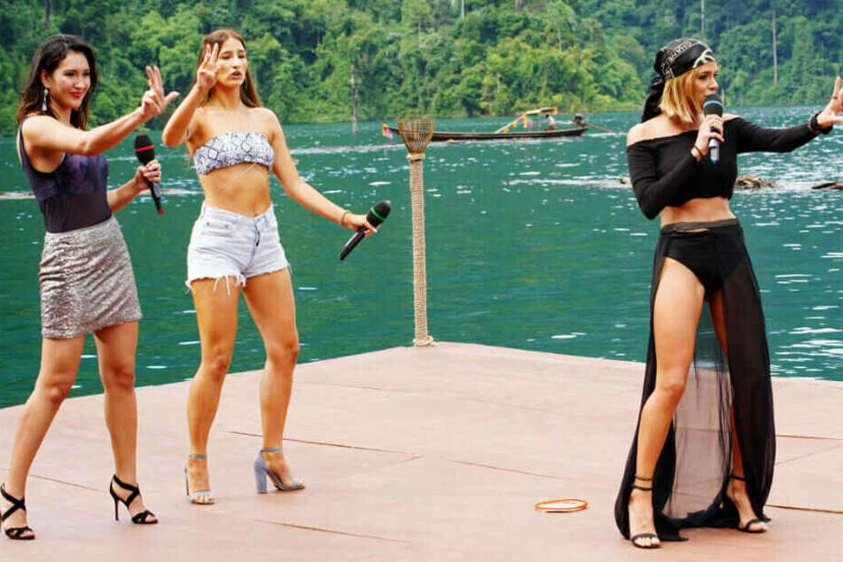 "Kamilla Asadullina, Natali Vrtkovska und Gianina Fabbricatore (v.l.) wollen mit ""New Rules"" von Dua Lipa punkten."