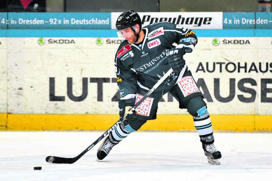 Aleksejs Sirokovs hämmerte die Scheibe zum 1:1 in die Maschen. Davon hätte es mehr gebraucht.
