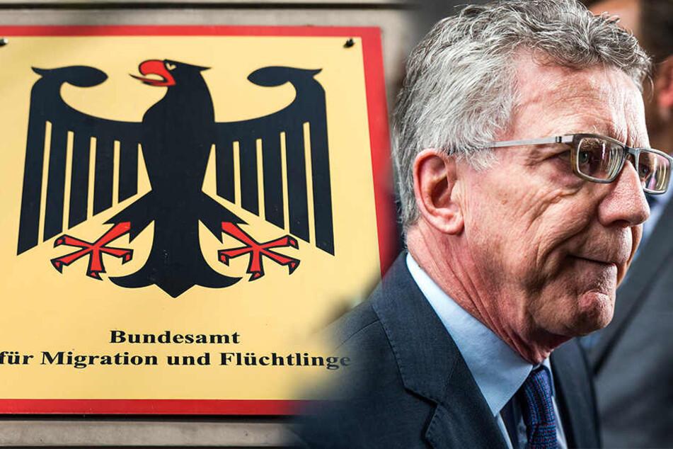Desaster beim Bamf: De Maizière übernimmt politische Verantwortung