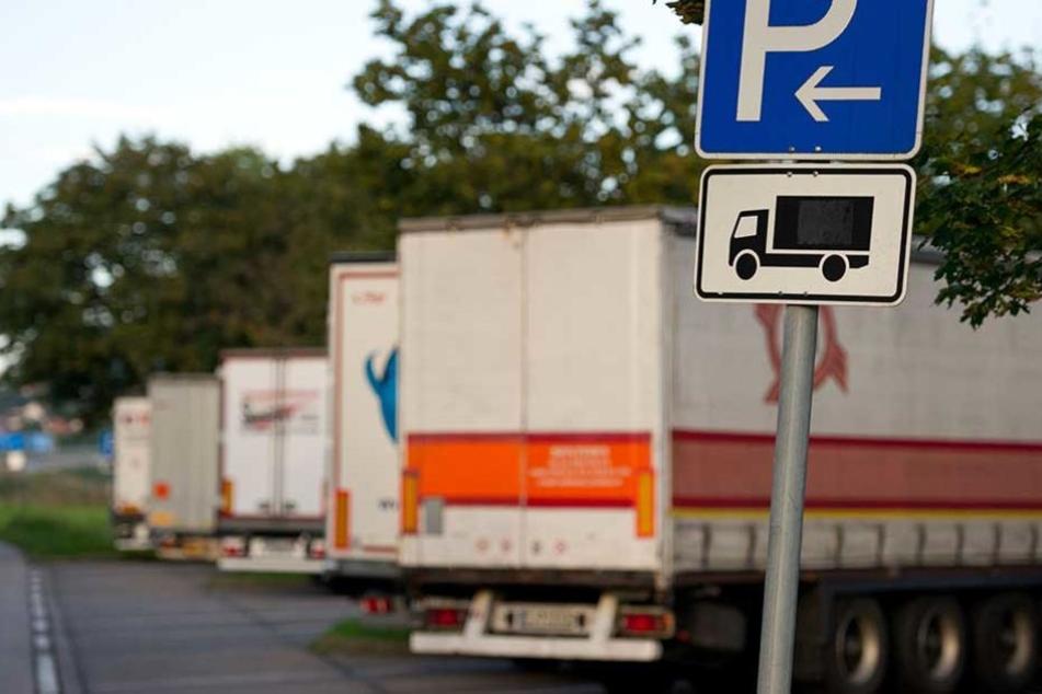 Auf einem Rastplatz wurden von einem Laster zehn Paletten Windeln gestohlen (Symbolbild).