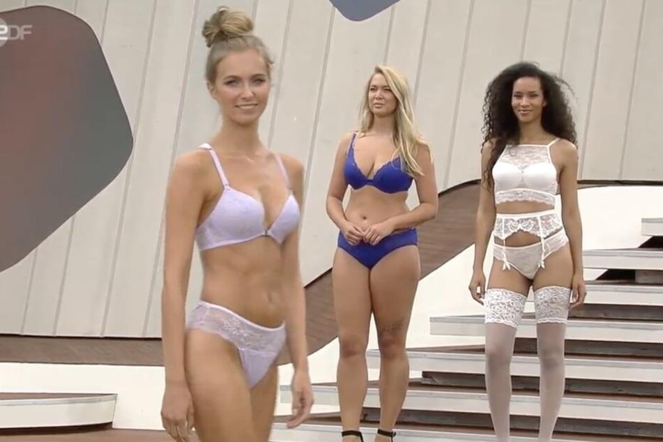 Peinliche Dessous-Modenschau beim ZDF-Fernsehgarten: Nackte Tatsachen schockieren die Fans