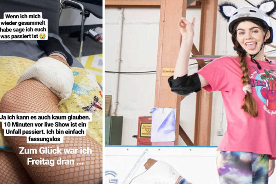 """Nach Unfall bei """"Dancing on Ice"""": Wie schlimm steht es wirklich um Klaudia Giez?"""