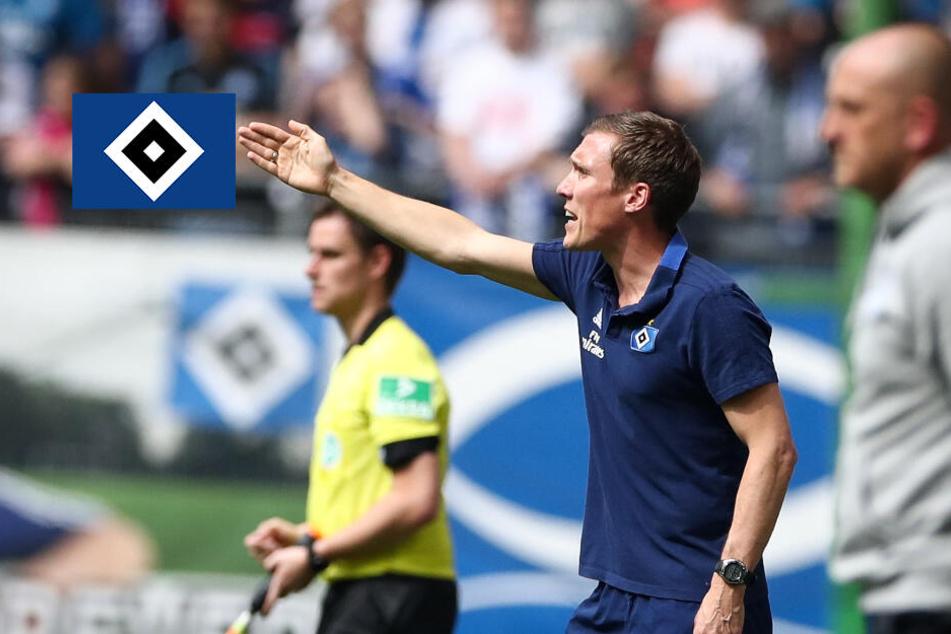 Trotz Trennung: HSV zahlt weiter das Gehalt von Hannes Wolf!