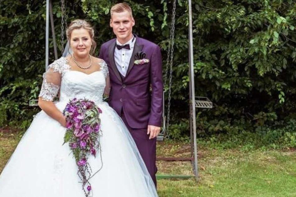 Sarafina (24) und Peter haben sich das Ja-Wort gegeben.