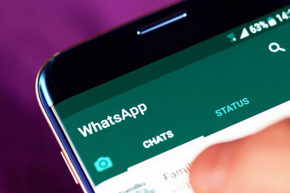 Chats in der Messenger-App WhatsApp können durch ein bestimmtes GIF von Fremden mitgelesen werden. (Symbolbild)