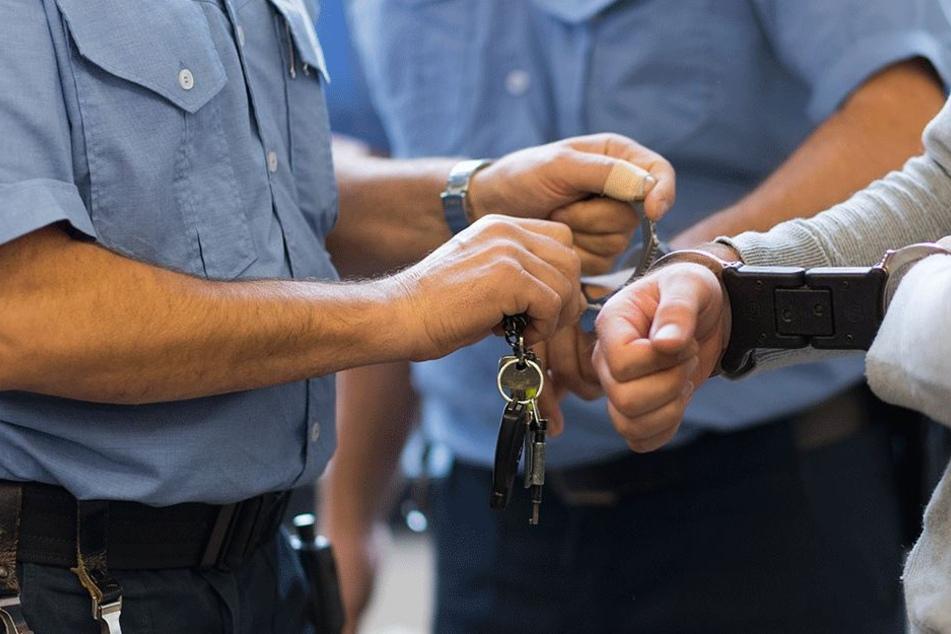 Ein junger Mann (24) wollte Polizist werden und lernte sofort die andere Seite kennen (Symbolbild).