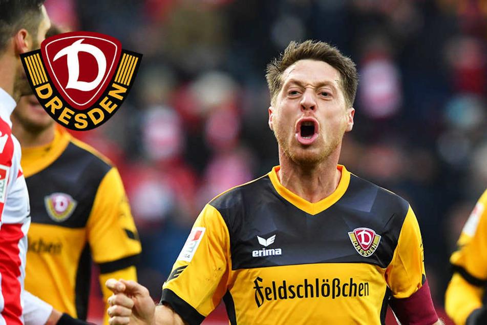 Nach 19 Jahren! Lumpi schießt Dynamo Dresden zum Derby-Sieg bei Union Berlin