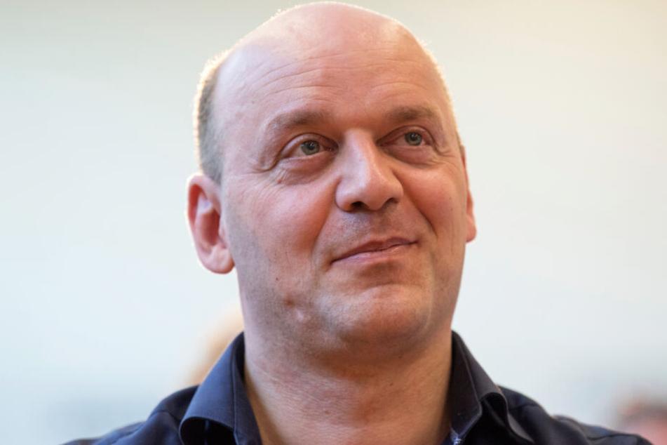 Das Foto vom 19. August 2018 zeigt Robert Lambrou, den AfD-Fraktionschef im hessischen Landtag.